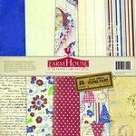 FarmHouse Paper Company - Fair Skies Collection - 12 x 12 Paper Pack - Dawn
