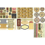 FarmHouse Paper Company - Fair Skies Collection - Cardstock Stickers - Dusk