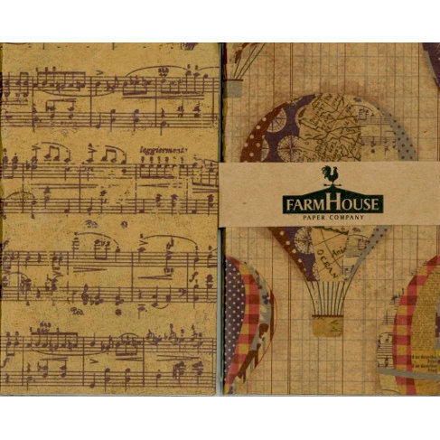 FarmHouse Paper Company - Fair Skies Collection - Double Album