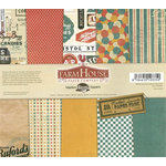 FarmHouse Paper Company - Market Square Collection - 12 x 12 Paper Pack - Emporium