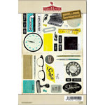 FarmHouse Paper Company - 302 Collection - Chipboard Stickers - FYI