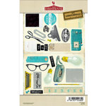 FarmHouse Paper Company - 302 Collection - Chipboard Stickers - BTW