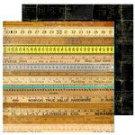 FarmHouse Paper Company - 302 Collection - 12 x 12 Double Sided Paper - Post Script