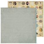 FarmHouse Paper Company - 302 Collection - 12 x 12 Double Sided Paper - Reminder