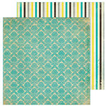 FarmHouse Paper Company - 302 Collection - 12 x 12 Double Sided Paper - Memorandum
