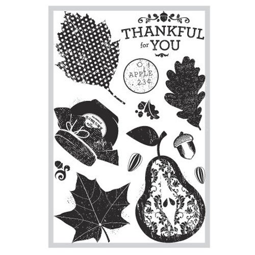 FarmHouse Paper Company - Sugar Hill Collection - Clear Acrylic Stamps - Autumn