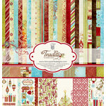 Fancy Pants Designs - Tradition Collection - Christmas - 12 x 12 Paper Kit