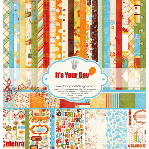 Fancy Pants Designs - It's Your Day Collection - 12 x 12 Paper Kit