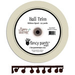 Fancy Pants Designs - Happy Together Collection - Ball Trim Ribbon - 25 Yards