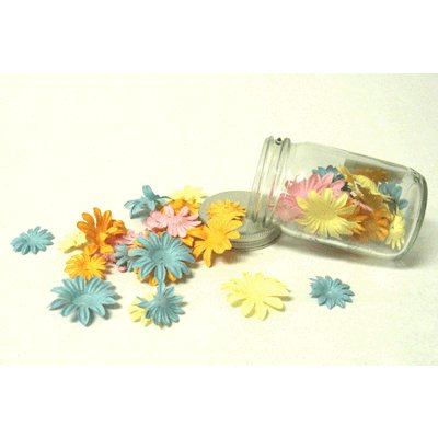 Fancy Pants Designs - Flowers - Small and Medium Daisy - Frou-Frou