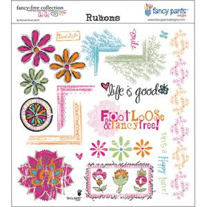 Fancy Pants Designs - Rubons - Chi-Chi, CLEARANCE