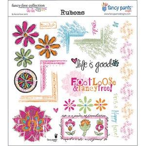 Fancy Pants Designs - Rubons - Chi-Chi, CLEARANCE