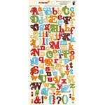 Fancy Pants Designs - It's Your Day Collection - Alphabet Cardstock Stickers
