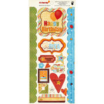 Fancy Pants Designs - It's Your Day Collection - Cardstock Stickers - Element