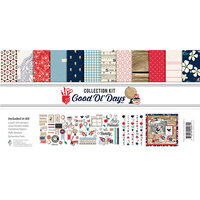 Fancy Pants Designs - Good Old Days Collection - 12 x 12 Collection Kit