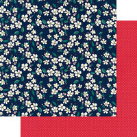 Fancy Pants Designs - Good Old Days Collection - 12 x 12 Double Sided Paper - Blossom