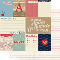Fancy Pants Designs - Good Old Days Collection - 12 x 12 Double Sided Paper - Memories