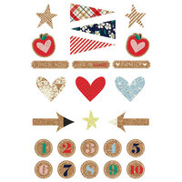 Fancy Pants Designs - Good Old Days Collection - Cork Stickers