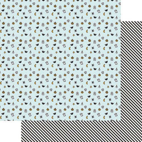 Fancy Pants Designs - Halloween - Howl Collection - 12 x 12 Double Sided Paper - Little Monsters