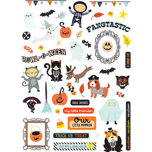 Fancy Pants Designs - Halloween - Howl Collection - Ephemera