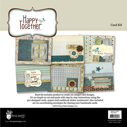 Fancy Pants Designs - Happy Together Collection - Card Kit