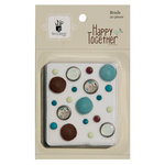 Fancy Pants Designs - Happy Together Collection - Brads