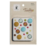 Fancy Pants Designs - Tradition Collection - Christmas - Brads