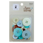 Fancy Pants Designs - Happy Together Collection - Buttons