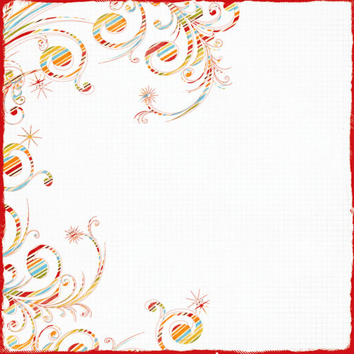 Fancy Pants Designs - It's Your Day Collection - 12 x 12 Printed Transparent Overlays