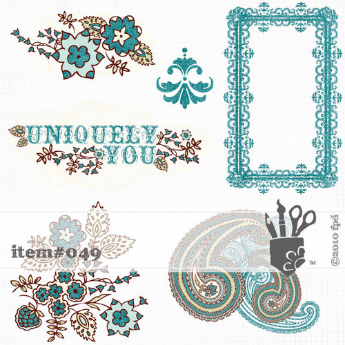 Fancy Pants Designs - Happy Together Collection - 12 x 12 Glitter Cuts Transparencies
