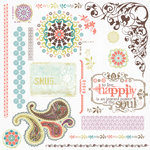 Fancy Pants Designs - Lilac House Collection - Rub Ons, CLEARANCE