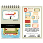 Fancy Pants Designs - It's Your Day Collection - 5 x 8 Notebook Journal
