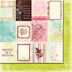 Fancy Pants Designs - Wishful Thinking Collection - 12 x 12 Double Sided Paper - Cards