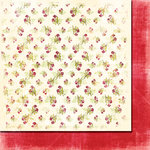 Fancy Pants Designs - Wishful Thinking Collection - 12 x 12 Double Sided Paper - Corsage