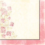 Fancy Pants Designs - Wishful Thinking Collection - 12 x 12 Double Sided Paper - Rose Petals