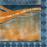 Fancy Pants Designs - Like Father Like Son Collection - 12 x 12 Double Sided Paper - Be Strong