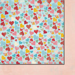 Fancy Pants Designs - Love Birds Collection - 12 x 12 Double Sided Paper - Bunches of Love