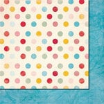Fancy Pants Designs - Love Birds Collection - 12 x 12 Double Sided Paper - Love Dots