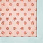 Fancy Pants Designs - Love Birds Collection - 12 x 12 Double Sided Paper - Circle of Love