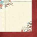 Fancy Pants Designs - Hot Chocolate Collection - 12 x 12 Double Sided Paper - Iced Mocha, BRAND NEW