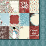 Fancy Pants Designs - Hot Chocolate Collection - 12 x 12 Double Sided Paper - Hot Chocolate Cards, BRAND NEW