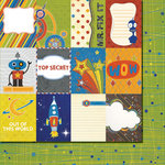 Fancy Pants Designs - To the Moon Collection - 12 x 12 Double Sided Paper - Cards