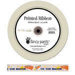 Fancy Pants Designs - To the Moon Collection - Printed Ribbon - 25 Yards