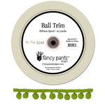 Fancy Pants Designs - To the Moon Collection - Green Ball Trim - 25 Yards