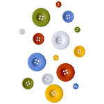 Fancy Pants Designs - To the Moon Collection - Buttons