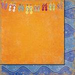 Fancy Pants Designs - Beach Bum Collection - 12 x 12 Double Sided Paper - Flip Flops