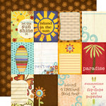 Fancy Pants Designs - Rusted Sun Collection - 12 x 12 Double Sided Paper - Cards