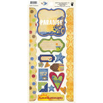 Fancy Pants Designs - Beach Bum Collection - Cardstock Stickers - Element