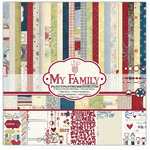 Fancy Pants Designs - My Family Collection - 12 x 12 Paper Kit