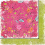 Fancy Pants Designs - Beach Babe Collection - 12 x 12 Double Sided Paper - Reef